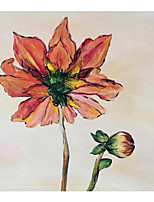 cheap -Oil Painting Handmade Hand Painted Wall Art Plant Flower Home Decoration Dcor Stretched Frame Ready to Hang