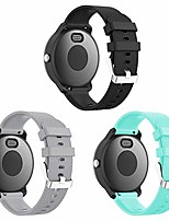 cheap -Smart watch band compatible vivoactive 3 watch band, 20mm easy fit soft silicone replacement bands for garmin vivoactive 3/samsung galaxy 42mm/forerunner 645 music smart watch