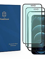 cheap -Phone Screen Protector For Apple iPhone 12 Pro Max 11 SE 2020 X XR XS Max 8 7 Tempered Glass 2 pcs High Definition (HD) Anti Blue Light Scratch Proof Front Screen Protector Phone Accessory