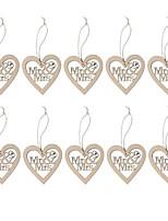 cheap -Ornaments Wood Wedding Decorations Wedding / Wedding Party Wedding All Seasons