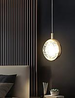cheap -LED Pendant Light Bedside Light Modern Gold Globe Design Island Light 12 cm Lantern Desgin Metal Electroplated 110-120V 220-240V