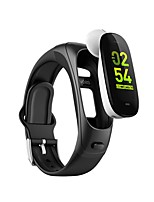 cheap -V08S Smartwatch for Android iOS 0.96-inch Sports Tracker Support Heart Rate Monitor Blood Pressure Measurement Sports Long Standby Smart Pedometer Sleep Tracker Sedentary Reminder