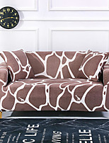 cheap -Khaki Print Dustproof All-powerful Slipcovers Stretch Sofa Cover Super Soft Fabric Couch Cover with One Free Boster Case(Chair/Love Seat/3 Seats/4 Seats)