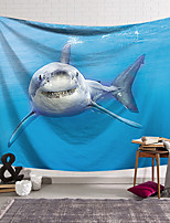 cheap -Wall Tapestry Art Decor Blanket Curtain Hanging Home Bedroom Living Room Decoration Polyester Shark