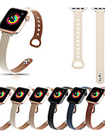 cheap -Smart Watch Band for Apple iWatch 1 pcs Business Band PU Leather Replacement  Wrist Strap for Apple Watch Series SE / 6/5/4/3/2/1