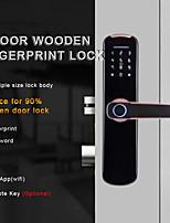 cheap -WF-007B WAFU Fingerprint Indoor Lock with tuya wifi Smart Security Door Lock for Home/Hotel Indoor Wooden Door