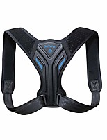 cheap -posture corrector for adults- back brace for men & women - neck, shoulder, upper back support- pain relief- lumbar support & comfy breathable straps