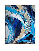 cheap -Oil Painting Handmade Hand Painted Wall Art Contemporary Abstract Large Size Home Decoration Decor Rolled Canvas No Frame Unstretched
