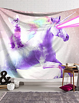 cheap -Wall Tapestry Art Decor Blanket Curtain Hanging Home Bedroom Living Room Decoration Polyester Unicorn Laser Eye Cat