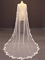 cheap -Short Sleeve Elegant & Luxurious Tulle Wedding / Wedding Party Women's Wrap With Beading / Appliques / Solid
