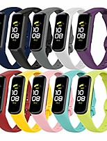 cheap -smartwatch band compatible with samsung galaxy fit 2 r220 bracelet, silicone sport waterproof fitness watch replacement wristband replacement band for samsung galaxy fit 2 r220 smart watch