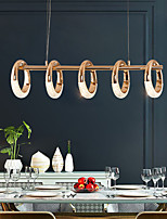cheap -LED Pendant Light Circle Ring Design 80cm Island Light Acrylic LED Nordic Style