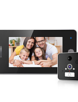cheap -LITBest 509WIFI Door Lock Wireless 4.3 inch Ding dong One to One video doorphone
