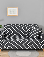 cheap -Stretch Sofa Cover Slipcover Elastic Sectional Couch Armchair Loveseat 4 or 3 seater L shape Geometric Soft Durable Washable