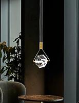 cheap -LED Pendant Light 15 cm Lantern Desgin Pendant Light Copper Brass Modern 220-240V