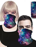 cheap -Men's / Unisex Christmas Rectangle Scarf - Galaxy 3D Print