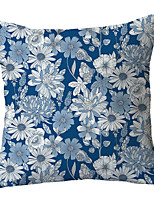cheap -Floral Double Side Cushion Cover 1PC Soft Throw Pillow Cover Cushion Case Pillowcase for Bedroom Livingroom Superior Quality Machine Washable  Outdoor Cushion for Sofa Couch Bed Chair