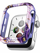 cheap -suritch case for apple watch series 3/2/1 42mm with built in tempered glass screen protector hd clear shockproof slim bumper hard pc full protective cover for iwatch series 3/2/1(lavender marble)
