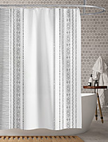 cheap -Waterproof Fabric Shower Curtain Bathroom Decoration and Modern and Geometric and Bohemian Theme 72 Inch