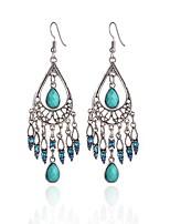 cheap -bohemian water drop tassel earrings dangle earrings drop earrings jewelry