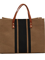 cheap -Women's Bags Straw Top Handle Bag Date Office & Career 2021 Khaki