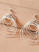 cheap -Women's Earrings Classic Stylish Simple Elegant Romantic Modern Earrings Jewelry Silver For Party Evening Formal Date Beach Festival 1 Pair