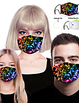cheap -Filter Element Women's Men's Spandex Polyester One-Size Rainbow 1pc / pack Adults Layered Anti-Fog Sports & Outdoor Daily Streetwear All Seasons