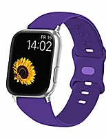 cheap -vati sport band compatible for watch band 42mm 44mm, soft silicone sport strap replacement bands compatible with watch se, series 6/5/4/3/2/1, 42mm 44mm m/l (purple)