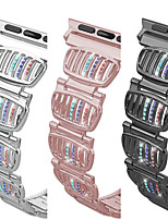 cheap -Smartwatch band for Apple iWatch Jewelry Design Zinc alloy Replacement  Wrist Strap for Apple Watch Series SE / 6/5/4/3/2/1