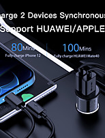 cheap -AWEI 20 W Output Power USB PD Charger Car USB Charger Socket Portable Charger For iPad Cellphone