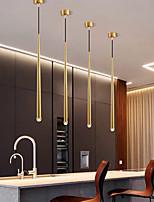 cheap -LED Pendant Light Kitchen Island Light Bedside Light 3 cm Lantern Desgin Metal Electroplated 220-240V 110-120V