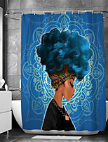 cheap -Waterproof Fabric Shower Curtain Bathroom Decoration and Modern and People and Classic Theme 72 Inch
