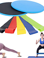 cheap -Hip Trainer Booty Bands Resistance Band Set Sports TPE ABS Home Workout Yoga Gym Workout Portable Non Toxic Stretchy Durable Lift, Tighten And Reshape The Plump Buttock Shaper Shoulder Strength
