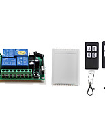 cheap -DC12V 4CH RF Wireless remote control switch / 10A relay ON OFF receiver /learning code 433mhz /Momentary /Toggle/Latched can change