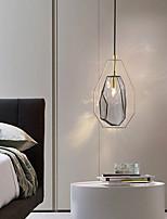 cheap -LED Pendant Light 18 cm Lantern Desgin Pendant Light Metal Electroplated Modern 220-240V
