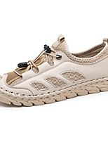 cheap -Men's Sandals Daily Walking Shoes Mesh Breathable Beige Gray Spring Summer