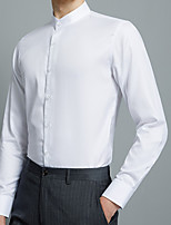 cheap -Men's Wedding Suits Shawl Collar Standard Fit Single Breasted More-button Solid Color Polyester
