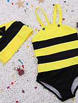 cheap -Boys' Girls' One Piece Swimsuit Nylon Swimwear Bodysuit Quick Dry Stretchy Sleeveless Swimming Surfing Snorkeling Summer / Kid's