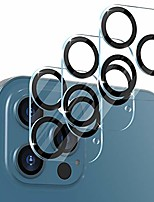cheap -cloudvalley [3 pieces] camera protection compatible with iphone 12 pro max hard glass, 9h hardness, 6.7 inches, hd clear, bubble-free, easy installation, scratch-resistant