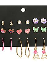 cheap -earrings set butterfly dripping earrings, women's eiffel tower earrings