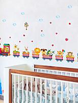 cheap -baseboard wall stickers waist line waterproof kindergarten entrance hallway corner decorative flower wallpaper self-adhesive bedroom stickers  50*70CM