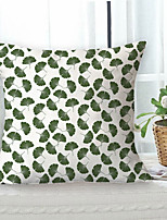 cheap -Gingko Double Side Cushion Cover 1PC Soft Decorative Square Throw Pillow Cover Cushion Case Pillowcase for Sofa Bedroom Livingroom Outdoor Superior Quality Machine Washable Outdoor Cushion for Sofa Couch Bed Chair