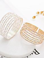 cheap -tennis bracelet full diamond bracelet fashion hollow bracelet handmade jewelry wide bracelet