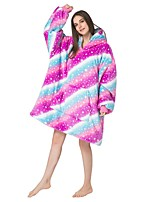 cheap -Adults' Kigurumi Pajamas Cartoon Onesie Pajamas Purple Cosplay For Men and Women Animal Sleepwear Cartoon Festival / Holiday Costumes