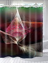 cheap -Sci-Fi Character Series Digital Printing Shower Curtain Shower Curtains  Hooks Modern Polyester New Design 72 Inch