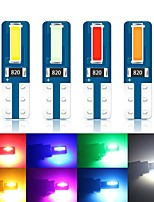 cheap -10pcs T5  W3W T5 LED Car Interior light Super bright CSP LED 7070  2SMD Car Dashboard warming indicator Auto Instrument Lamp 12v
