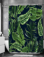 cheap -Waterproof Fabric Shower Curtain Bathroom Decoration and Modern and Floral / Botanicals 72 Inch