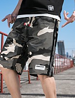 """cheap -Men's Hiking Shorts Hiking Cargo Shorts Military Camo Summer Outdoor 12"""" Regular Fit Ripstop Quick Dry Multi Pockets Breathable Cotton Knee Length Shorts Bottoms Army Green Black Hunting Fishing"""