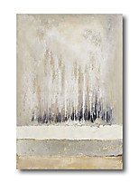 cheap -Oil Painting Handmade Hand Painted Wall Art Abstract Landscape Trees Forest Beige Home Decoration Decor Stretched Frame Ready to Hang