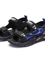 cheap -Boys' Sandals Comfort Beach Denim Katy Perry Sandals Big Kids(7years +) Sports & Outdoor Daily Walking Shoes Black / Blue Black / Green Orange Summer / Rubber